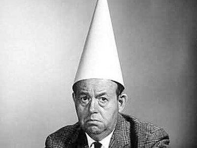 man-in-dunce-cap