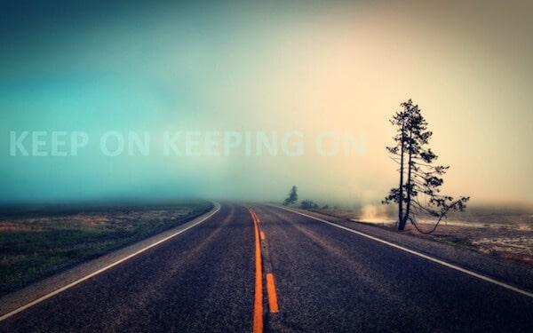 Continua ad andare avanti
