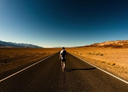 sfondo motivante vai per la tua strada