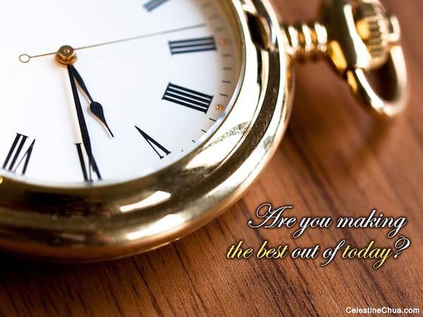 Sfondo Motivazionale - stai facendo il meglio di oggi