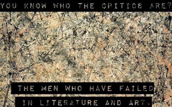 Sfondo Ispirante - Sai chi sono i criptici ? quelli che hanno fallito nelle arti e nella letteratura