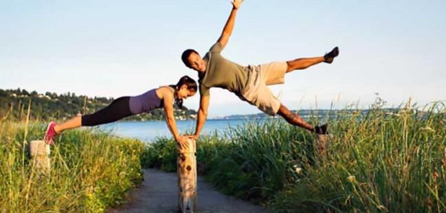 salute e benessere all'aria aperta in divertimento