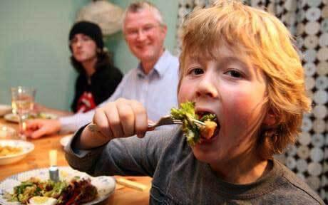 salute e benessere a tavola