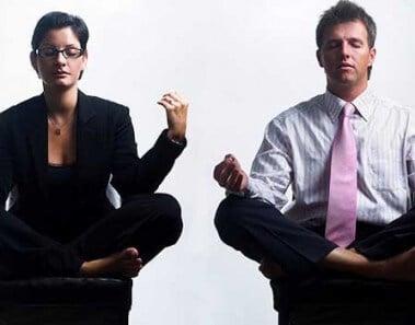 Meditazione a lavoro