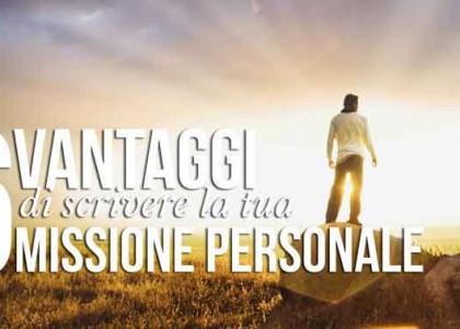 uomo con orizzonte: 6 Vantaggi di scrivere la tua Missione Personale