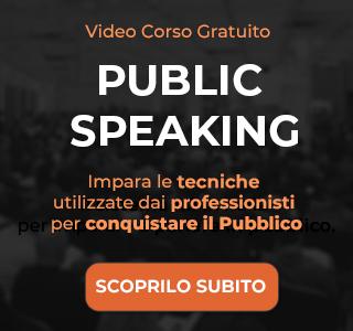 Corso Gratuito Public Speaking Max Formisano