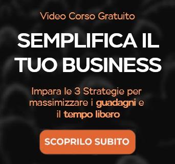 Corso Gratuito Le 3 Strategie Max Formisano