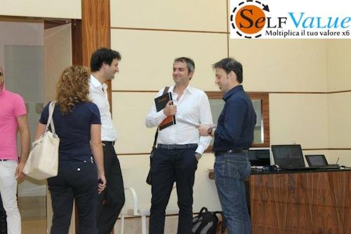 Luciano Cassese con Italo Pentimalli e Andrea La Gravinese